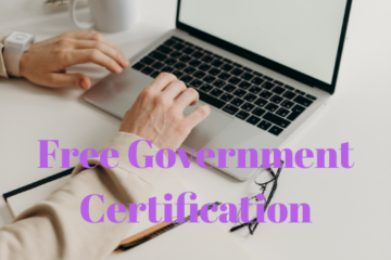 Free Online Government Certification