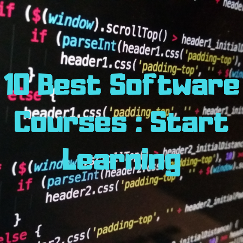 Best software courses for freshers