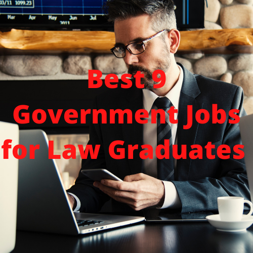 Government jobs for law graduates