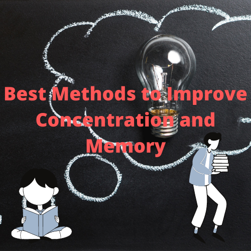 Improve concentration and memory while studying