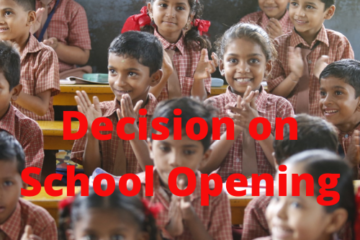 Decision on School Opening