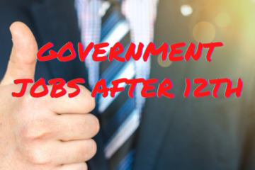 Government jobs after 12th