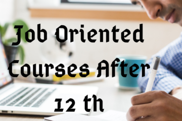 job oriented courses after 12th