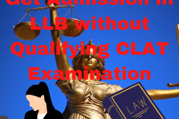 LLB without qualifying CLAT examination