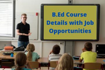 B.Ed Course