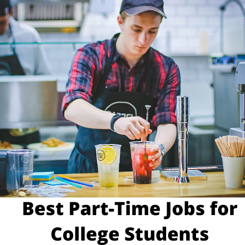 best part time jobs for college students