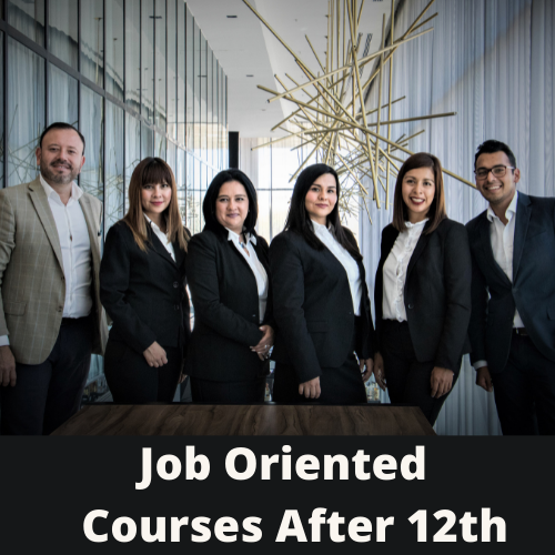 Job oriented course after 12th